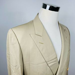 Ermenegildo Zegna 40R Sport Coat Double Breasted